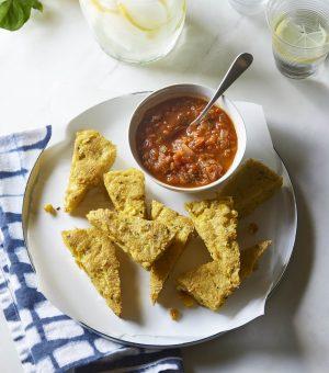 Polenta Fries with Marinara Sauce